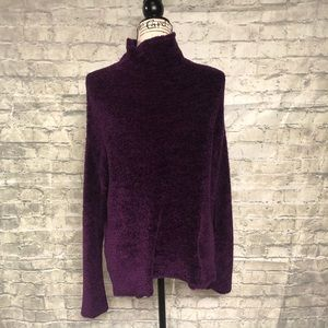 New York and Company purple sweater